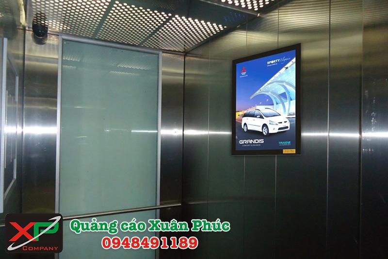 Quảng cáo LCD trong thang máy - sân bay…