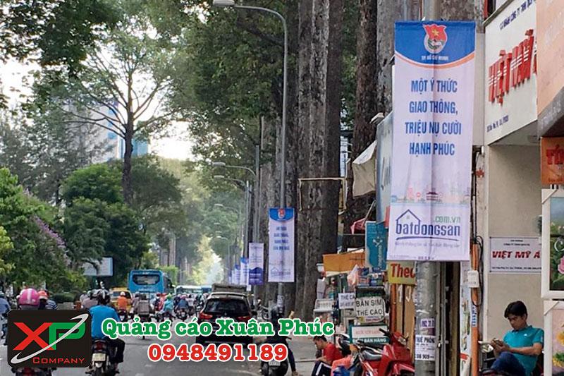 Giá treo phướn quảng cáo tại Hà Nội