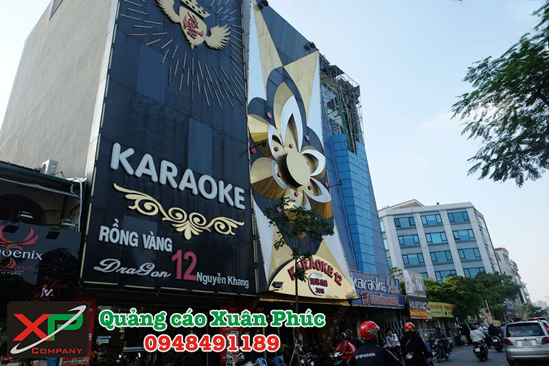 Thi công biển quảng cáo đẹp tại Hà Nội