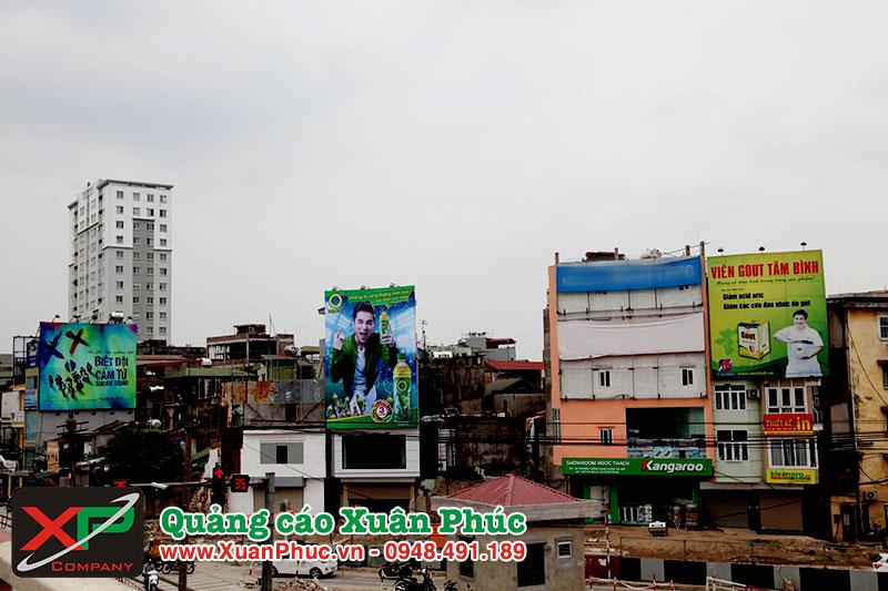 Thi công biển quảng cáo tại Hà Nội
