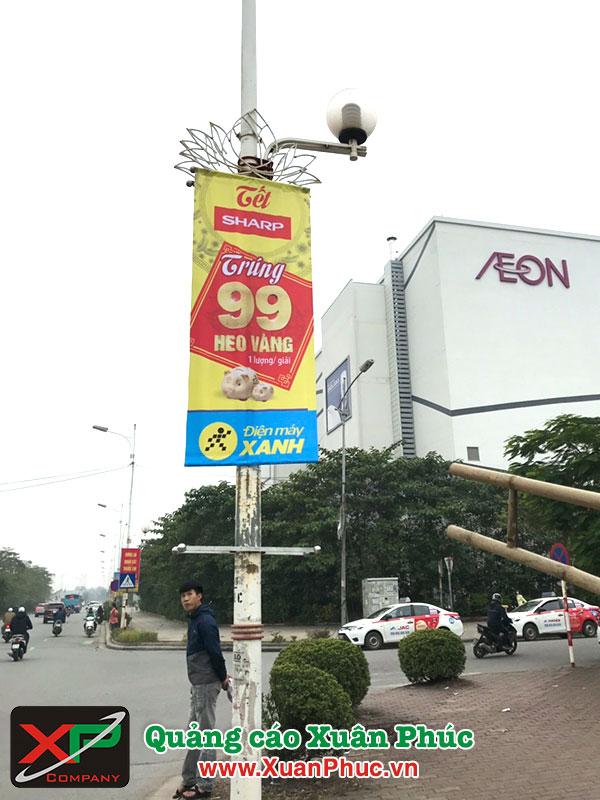 Treo phướn quảng cáo giá rẻ
